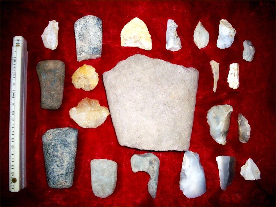 Walpernhain ein Heidedorf in der Steinzeit